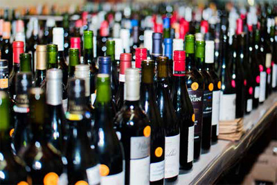 A sampling of the many wines to consider