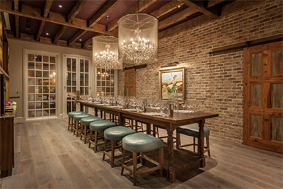 Grand Bohemian Hotel Charleston Wine Blending Room © GRAND BOHEMIAN CHARLESTON