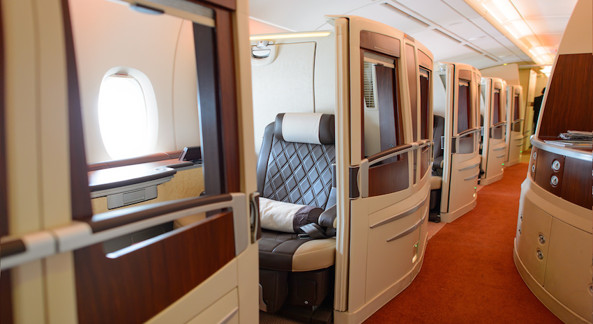 Singapore Airlines Large First Class Suite Global Traveler