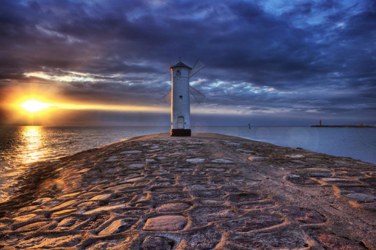 Baltic Sea beaches of Swinoujscie, Poland © Locha79   Dreamstime.com