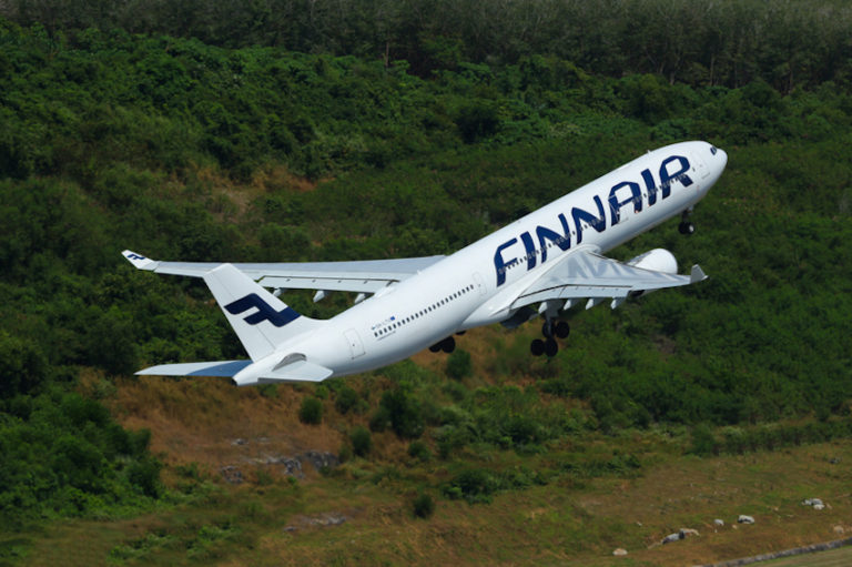 Finnair Airbus © Pothstock | Dreamstime.com