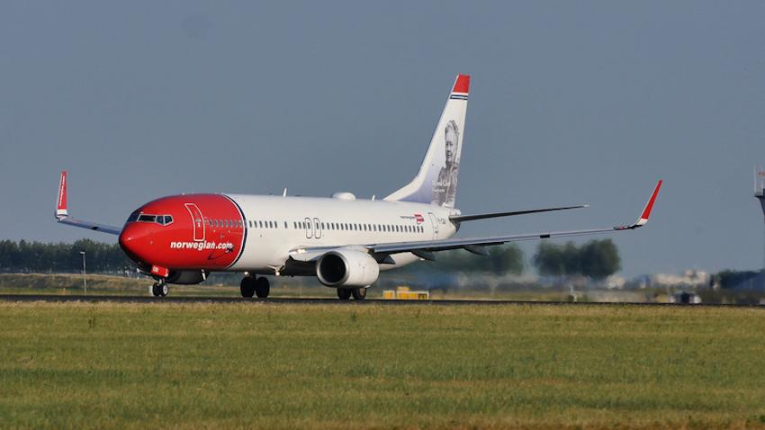 Norwegian Air Line © Colicaranica | Dreamstime.com