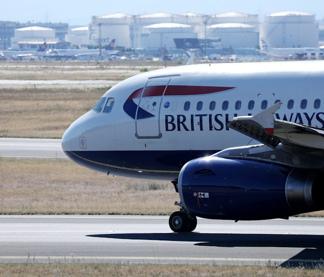 British Airways on runway © Colicaranica | Dreamstime.com