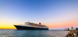 Queen Mary 2 cruise ship leaving © Andrey Moisseyev | Dreamstime.com