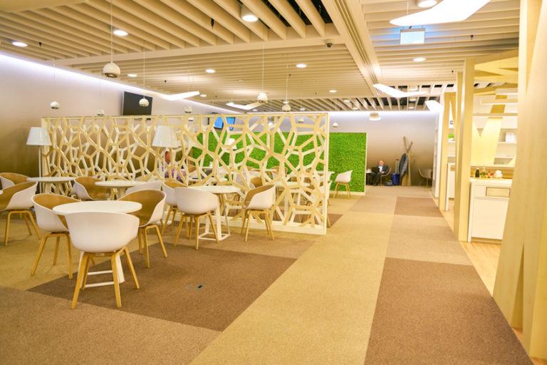 Executive Lounge in Warsaw Chopin Airport © Tea | Dreamstime.com