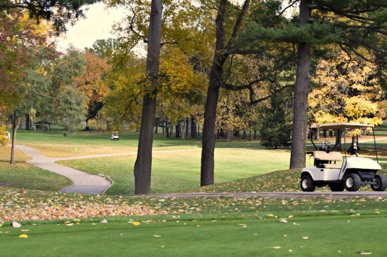 Autumn Golf Course, PA © Denise Kappa   Dreamstime.co