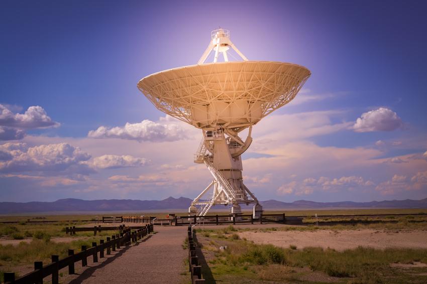 VLA Very Large Array near Socorro New Mexico © Kevin Berry | Dreamstime.com