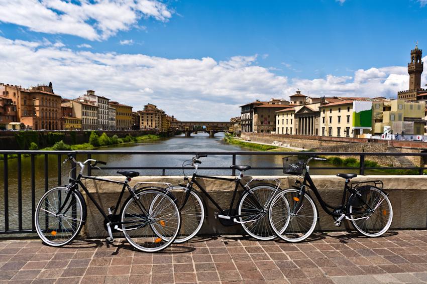 Bike Tours of Tuscany, Florence, Italy © Dario Racane\'   Dreamstime.com