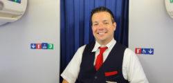 Delta Air Lines Flight Attendant Uniform © Tea | Dreamstime.com