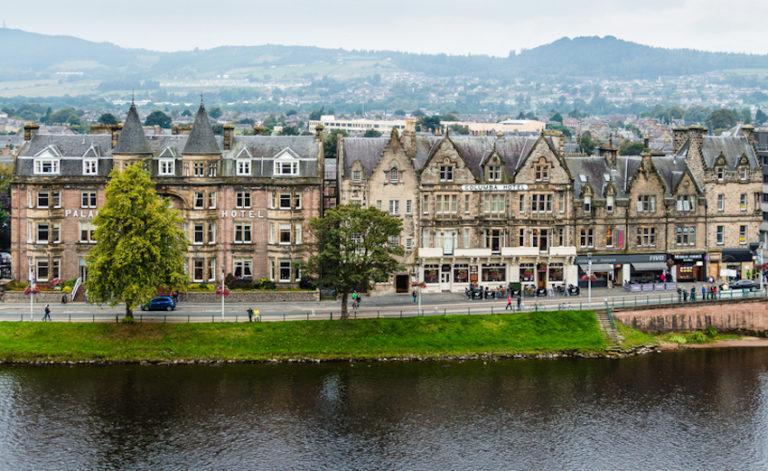 Hotels in Scotland © Lowsun | Dreamstime.com