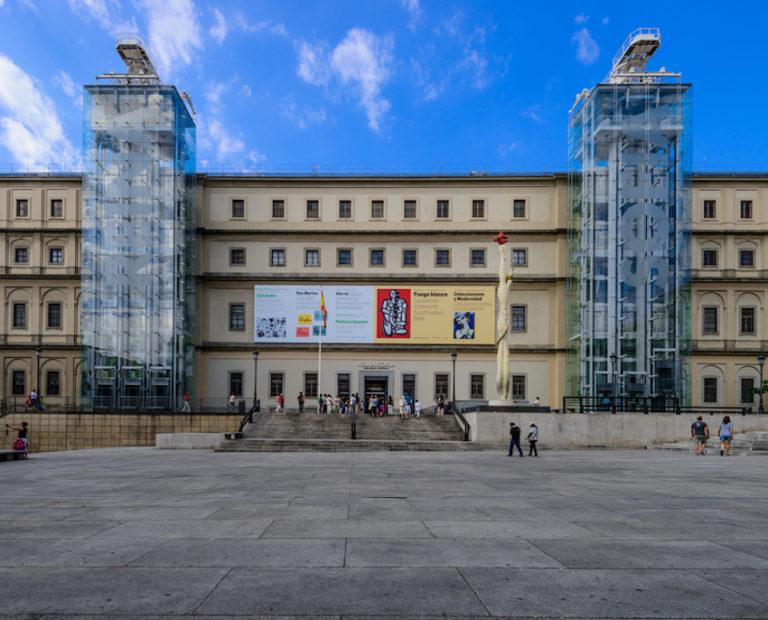 Reina Sofia National Museum in Madrid, Spain © Bo Li | Dreamstime.com