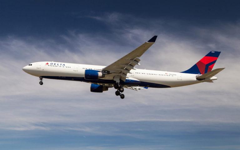 Delta Air Lines Airbus © Santiago Rodríguez Fontoba   Dreamstime.com
