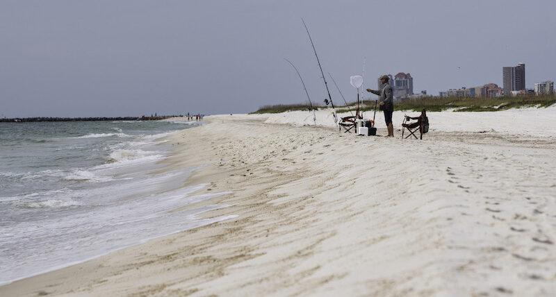Fishing in Orange Beach