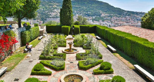 Garden of Cimiez monastery