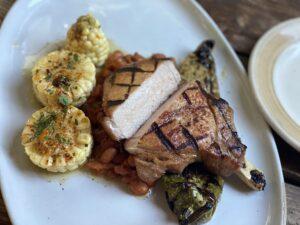 Pork Chops- Foundry Grill - Sundance Mountain Resort, Utah
