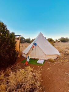 Tent glamping arizona