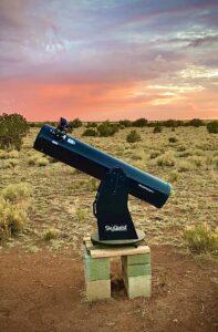 telescope arizona glamping