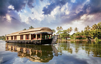 Houseboat in the backwaters